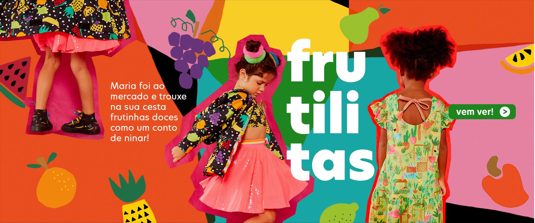 Fábula - Frutilitas - Nova Coleção